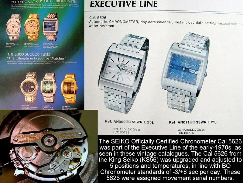 Seiko 5626-5020 Officially Certified Chronometer HiBeat