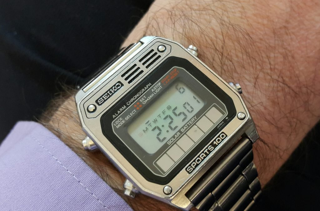Seiko A628 LCD